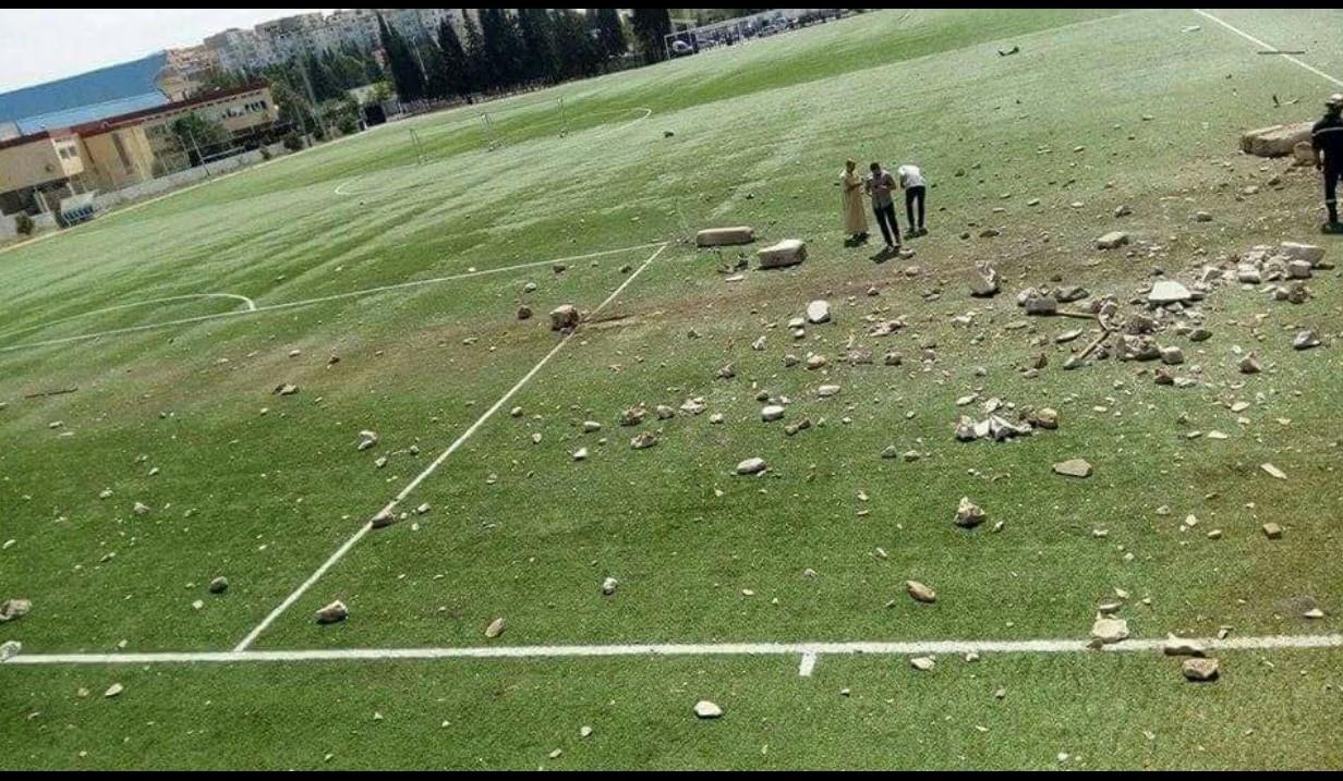 انفجار ملعب سطيف