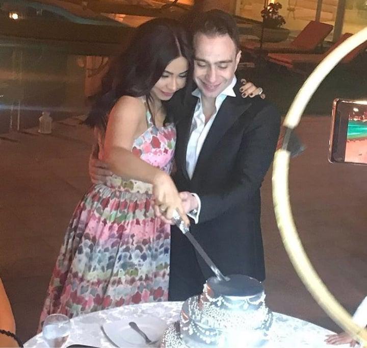 حفل زفاف شيرين