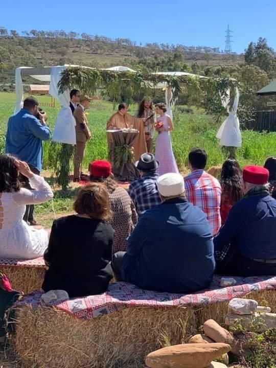 زواج تونسي على الطريقة الاوروبية في قلب الطبيعة