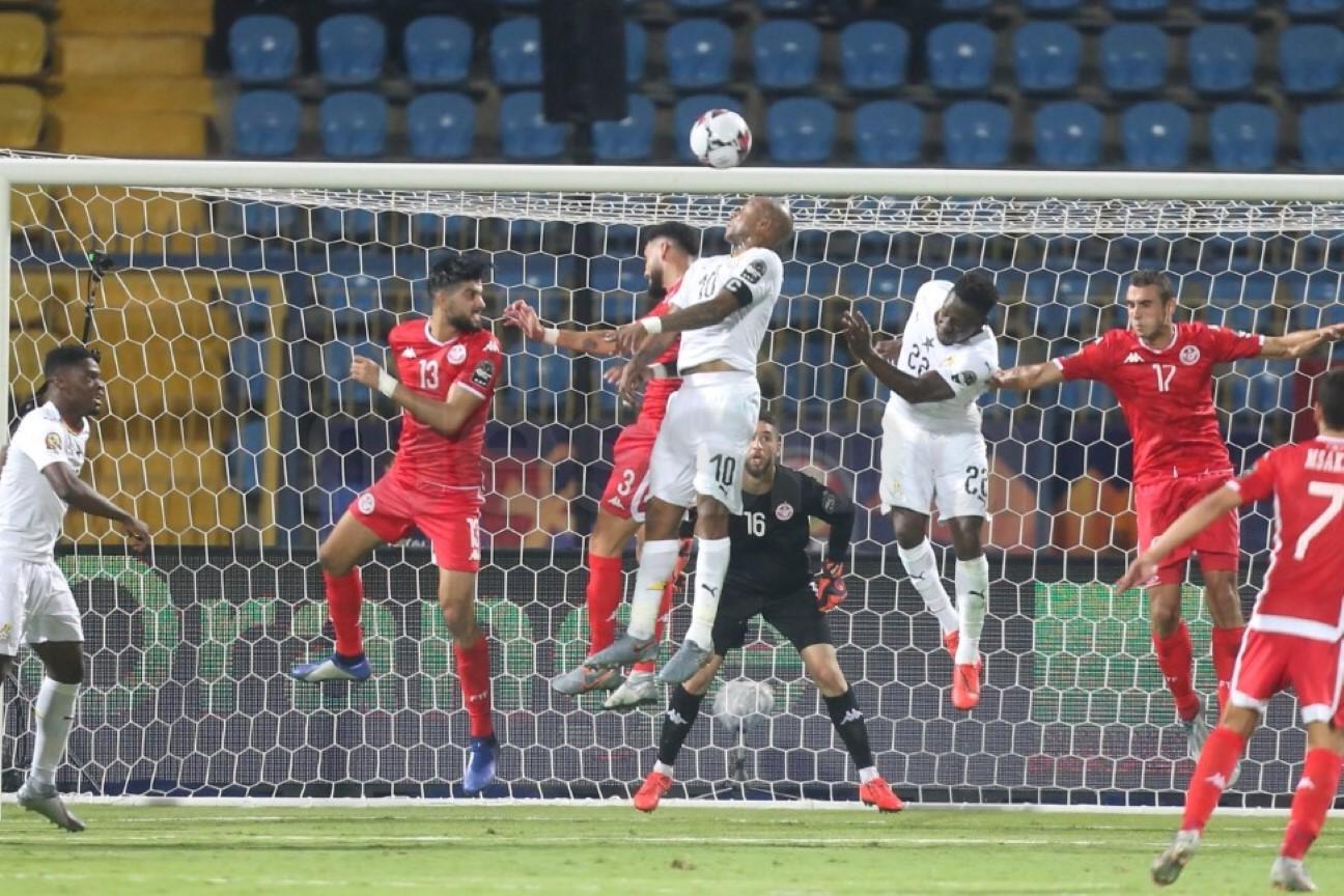 صور الشوط الثاني من مباراة المنتخب الوطني التونسي و منتخب غانا