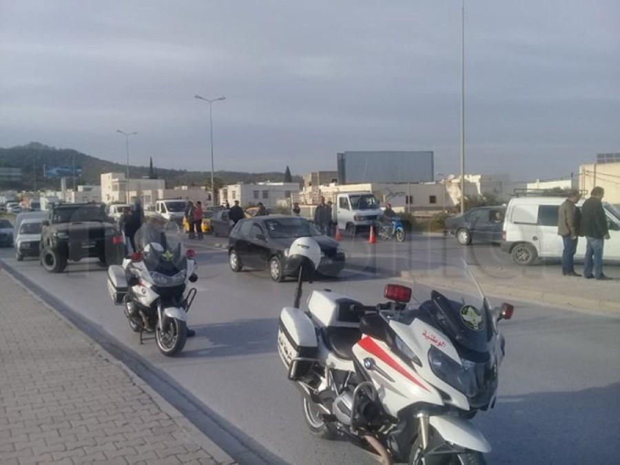 صور من الحملة الأمنية المكثفة للشرطة بأريانة