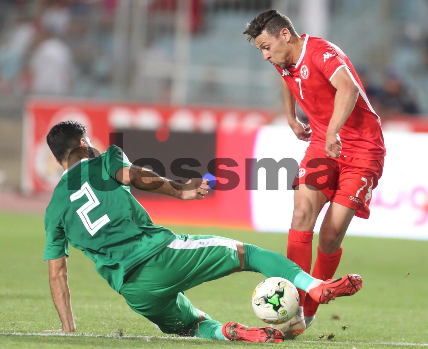 صور الشوط الثاني  لمباراة المنتخب الوطني التونس و المنتخب العراقي