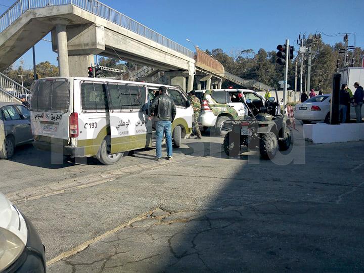 حملات أمنية بإقليم الحرس الوطني ببن عروس بمحيط المؤسسات التربوية وعمليات تمشيط للمحافظة للأمن العام
