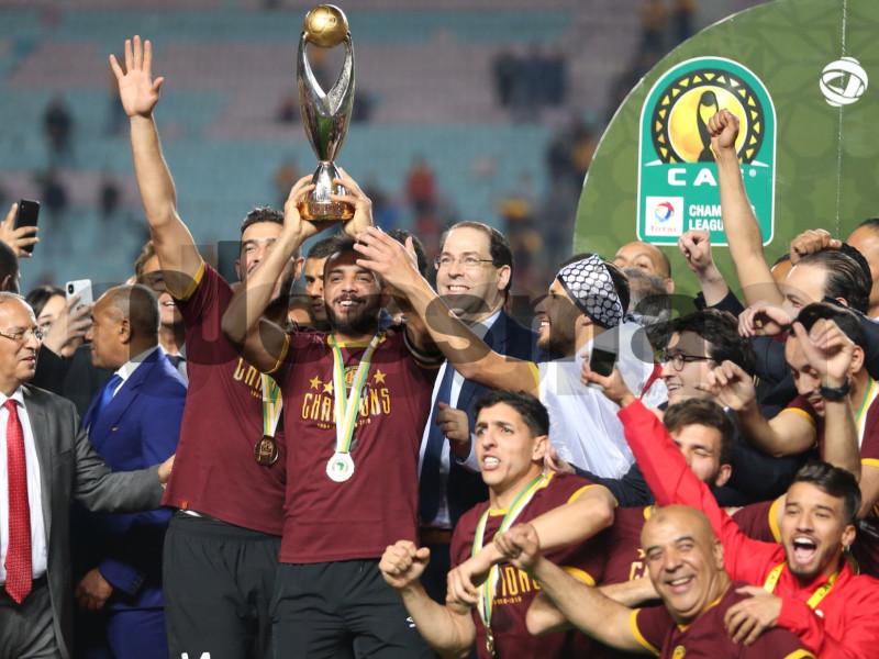 صور تتويج الترجي الرياضي التونسي بلقب دوري أبطال إفريقيا
