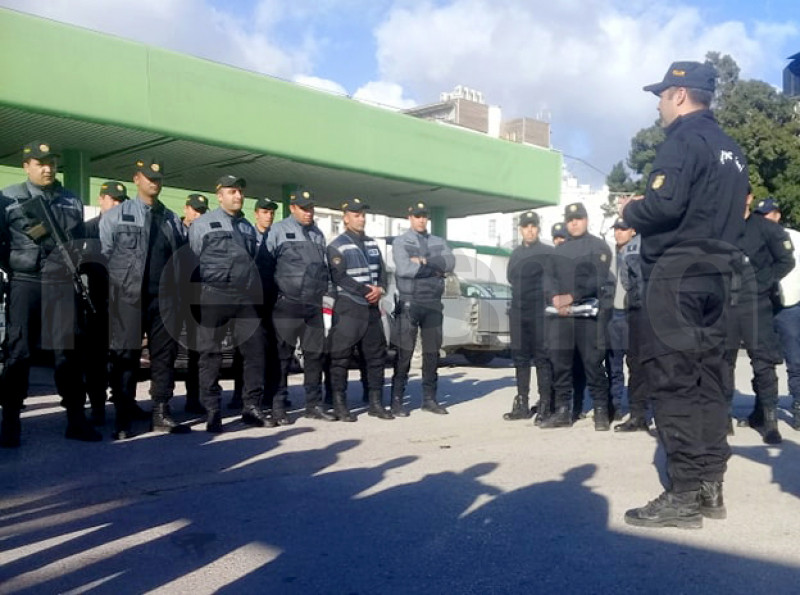 تواصل الحملات الأمنية لمقاومة العنف والجريمة بمحطة برشلونة بالعاصمة