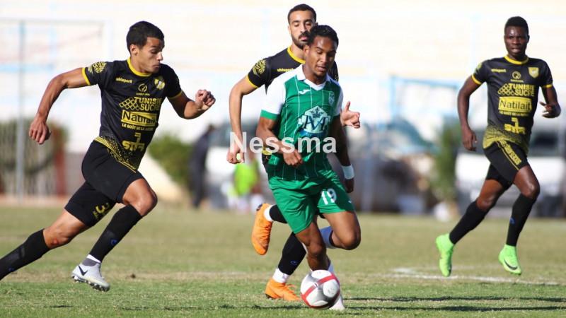 Photos du match entre le stade gabesien et le club de Bizerte