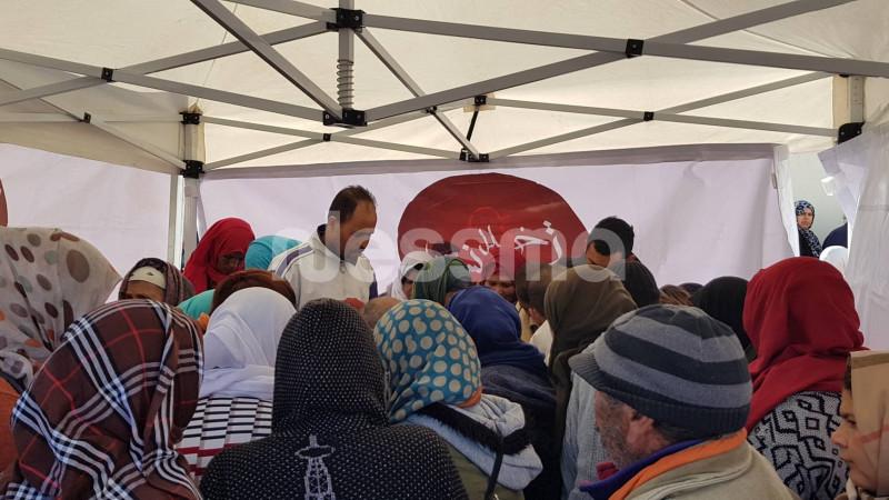 انطلاق عمليات التسجيل و تواصل توافد اهالي قفصة على خيمات #قرية_الشفاء 2