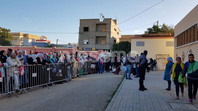 قرية الشفاء بقفصة تفتح أبوابها منذ الصباح  لإستقبال كل من يطلب العلاج !