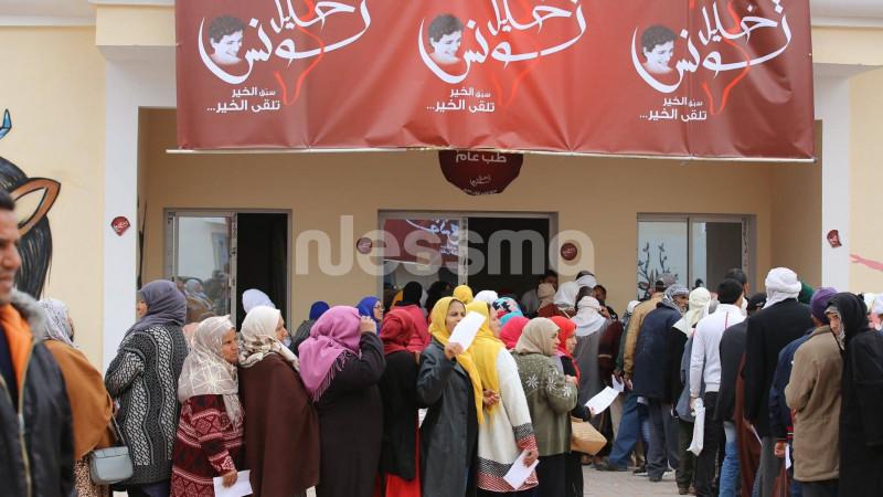 تواصل العيادات المجانية في عديد الإختصاصات لأهالي قفصة والقصرين وسيدي بوزيد   قرية_الشفاء 2