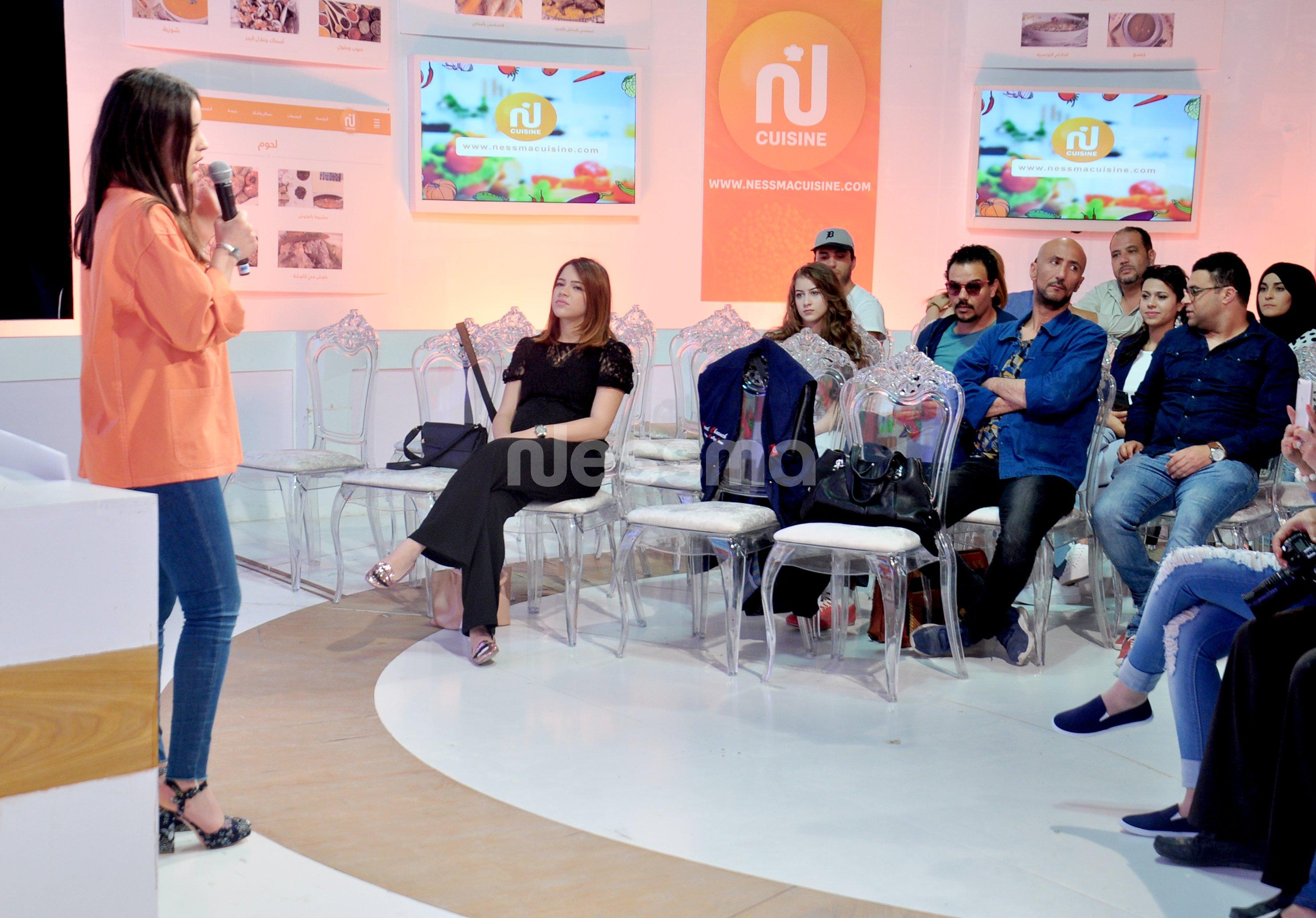 Conférence de presse pour le lancement du site nessma cuisine