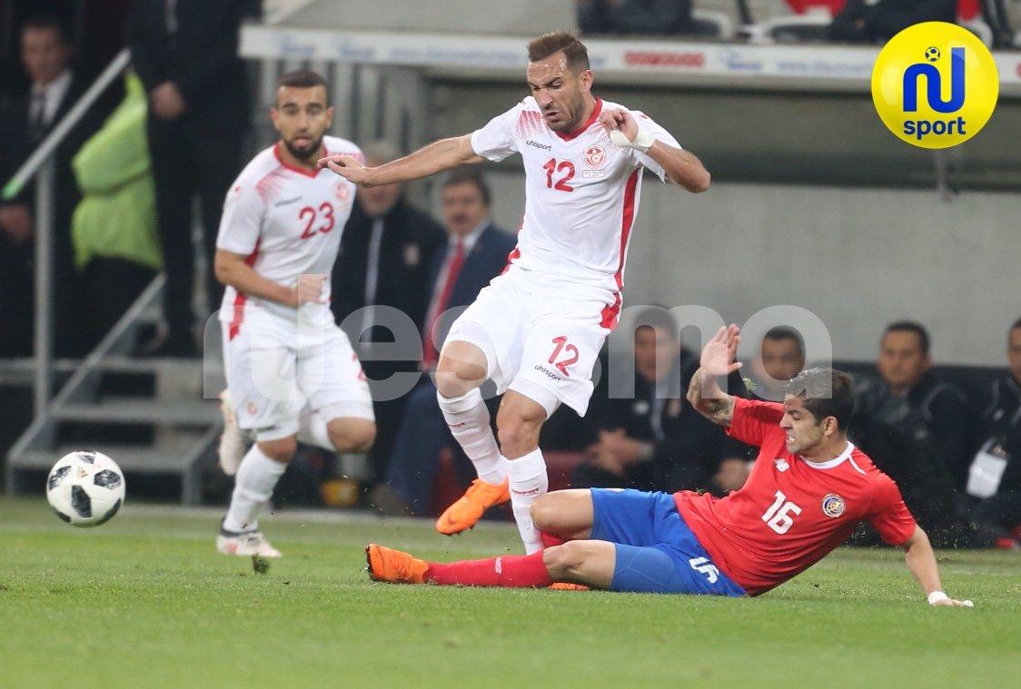 صور من مباراة تونس وكوستاريكا الودية