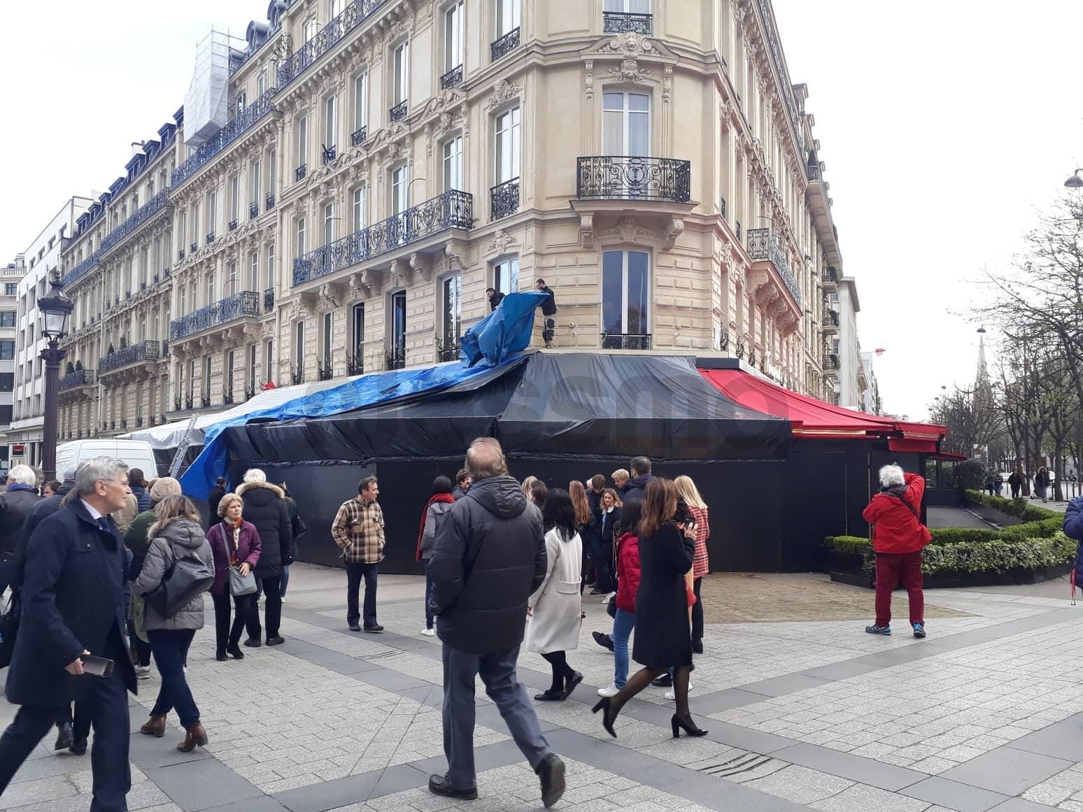 Gilets jaunes : le retour de la violence sur les Champs-Élysées
