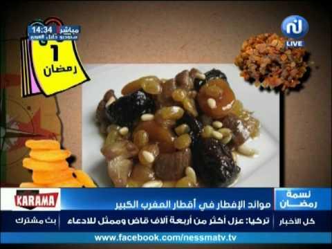قاع الخابية : موائد الإفطار في أقطار المغرب الكبير