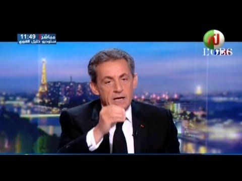 فريستايل: روح القذافي تطارد ما تبقى من ساركوزي !!!