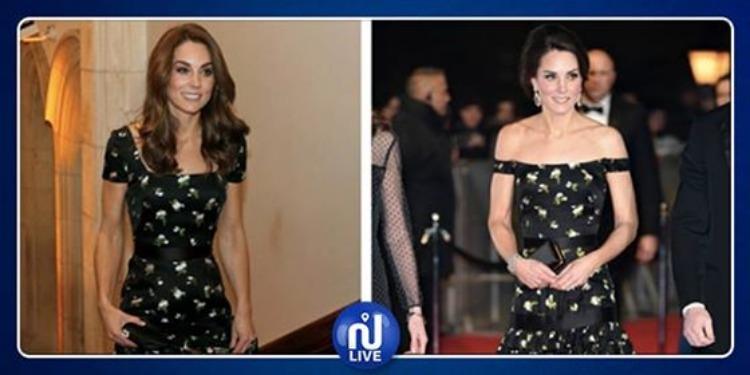 Kate Middleton recycle une jolie robe à fleurs