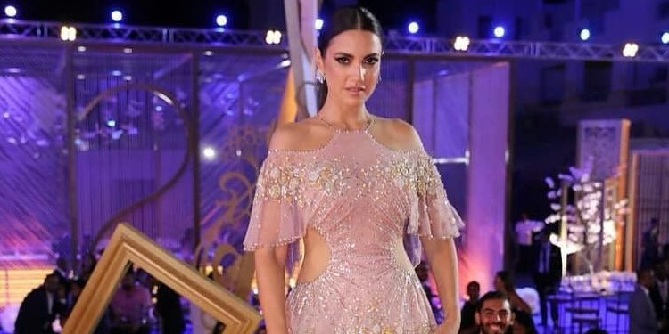 Dorra Zarrouk, splendide dans sa robe Georges Hobeika (photo)