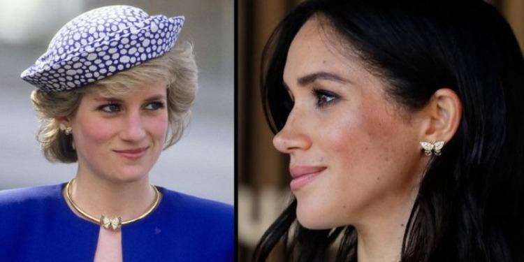 ميغان ماركل ترتدي مجوهرات الأميرة ديانا (صور)