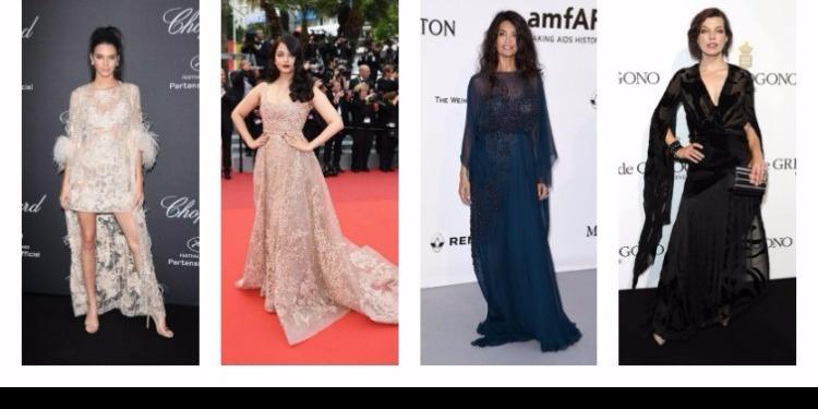Cannes : les stars habillées par Elie Saab