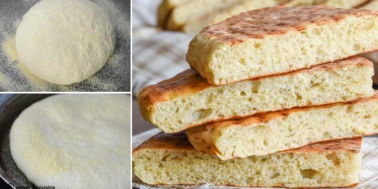 خبز مطلوع - خبز الطاجين