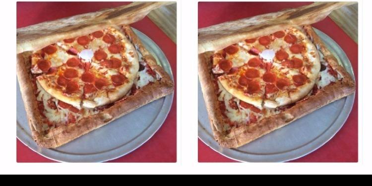 Pour les amateurs de la pizza : désormais vous pouvez manger l'emballage
