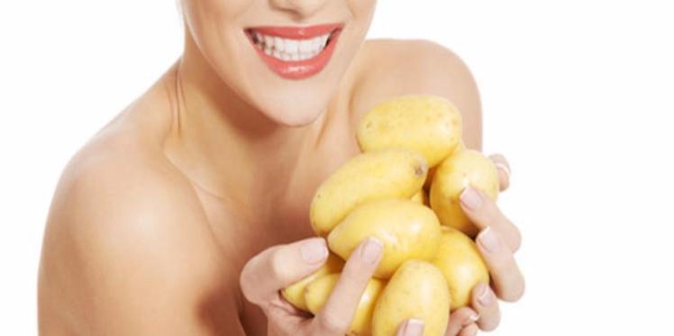 Une pomme de terre un allié pour une belle peau sans acné!