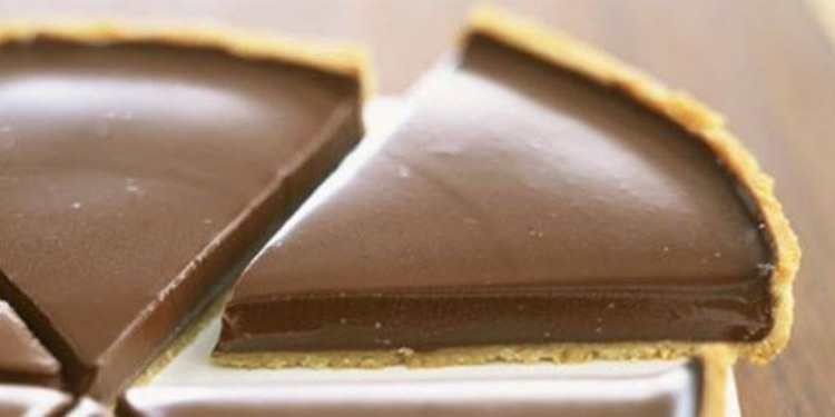 Tarte au chocolat et sucre roux pour un maximum de gourmandise ! (Photos)