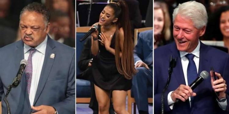 Aretha Franklin: Vibrant hommage de Bill Clinton (Vidéo)