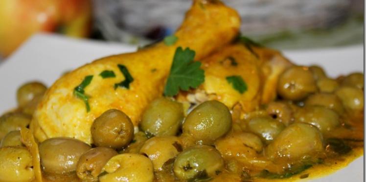 طاجين زيتون من المطبخ الجزائري
