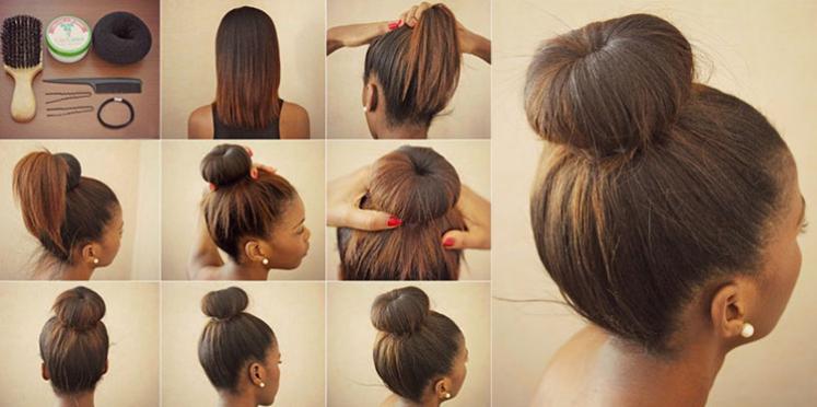 Comment faire un chignon chic pour les cheveux mi long ?