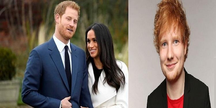 رسميا : إد شيران من سيحي حفلة زواج الأمير هاري و ميغان مركال