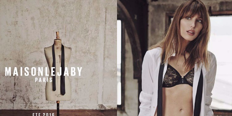 Défilé de la nouvelle collection de lingerie Lejaby