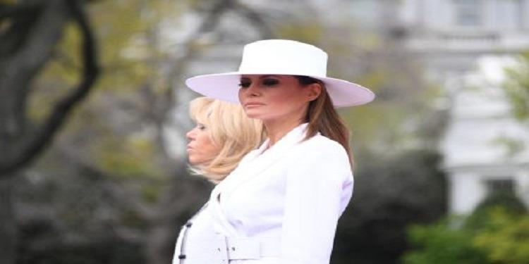 ميلانيا ترامب تتعرّض للإنتقاد بسبب قبعتها! (صور)