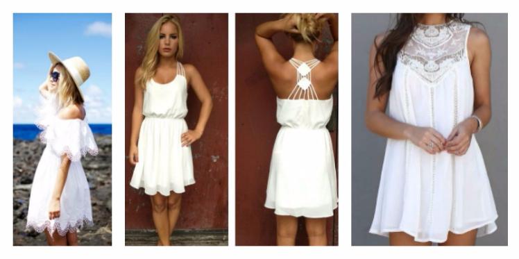 اللون الأبيض لإطلالة معاصرة و أنيقة هذا الصيف
