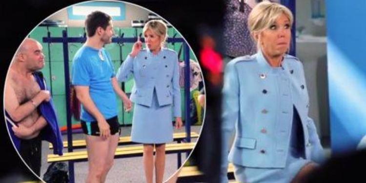 Ce soir sur France 2: Brigitte Macron joue son propre rôle (Vidéo)
