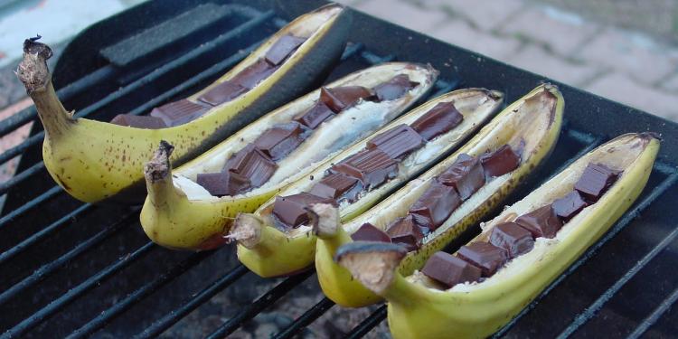 Bananes au barbecue