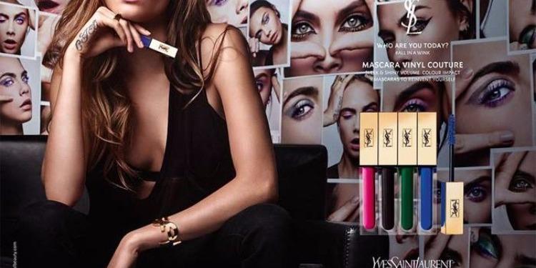 YSL Vinyl Couture Mascara, des cils aux couleurs de paon