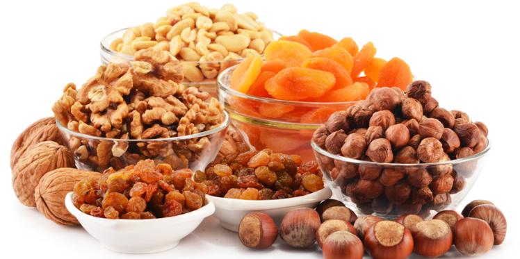 Les bienfaits des fruits secs pour la santé