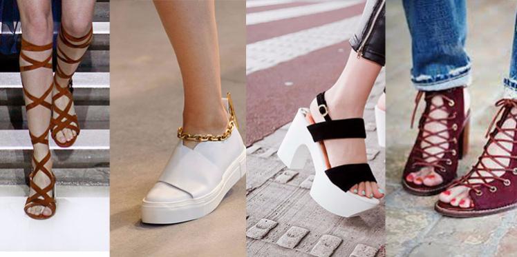 موضة الأحذية  لربيع وصيف 2016