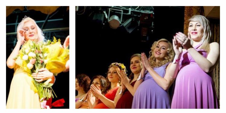 """روسيا:""""ألينا أيزيفا"""" تحرز على لقب أجمل امرأة حامل"""