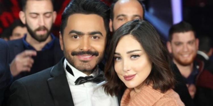 Tamer Hosny et Basma Boussil parents pour la 3ème fois