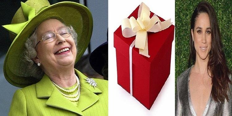 ملكة بريطانيا تدخل في نوبة صخك هيستيريا بسبب هدية ميغان (صور)