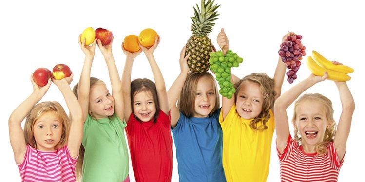 الأكل الصحي للأطفال ...