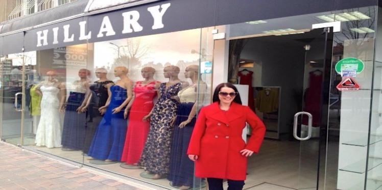 Une boutique dédiée au style d'Hillary Clinton au Kosovo