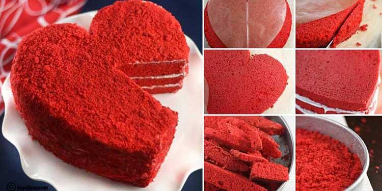 مرطبات القلب لعيد الحب