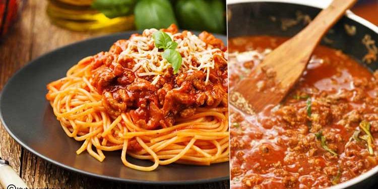 Spaghettis bolognaise à la Tunisienne