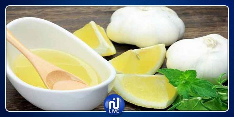 فوائد خليط الثوم والليمون