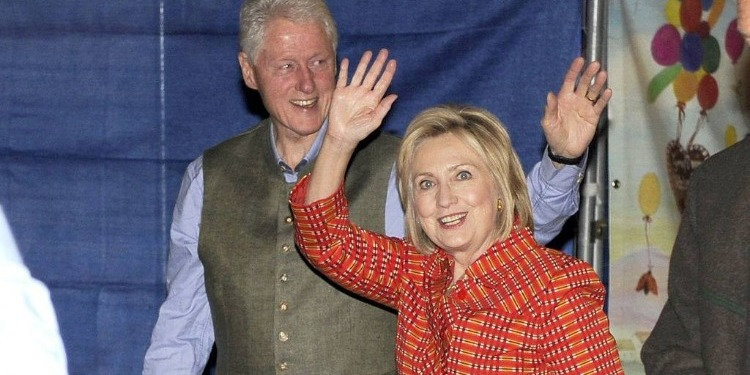 Les Clinton profitent de l'Oktoberfest à Munich