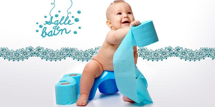 Comment aider un bébé à devenir propre ?