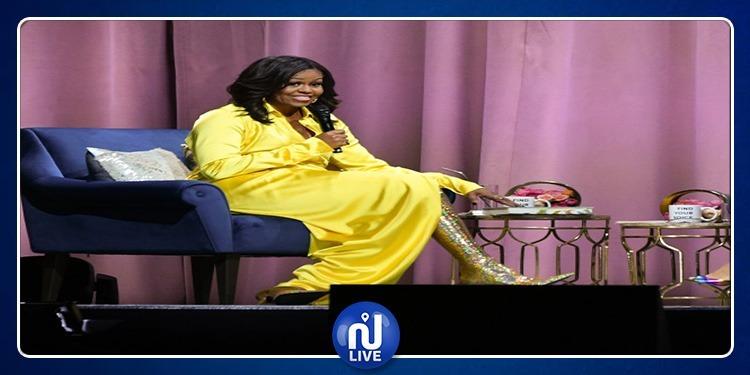 Michelle Obama fait sensation avec ses cuissardes…(photo)