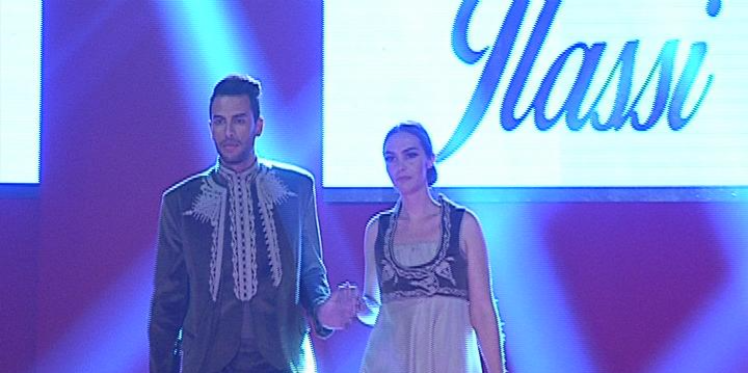 عرض أزياء للمصممة التونسية نبيلة جلاصي